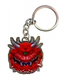 Kľúčenka Doom Metal Keychain Cacodemon Limited Edition 4 cm