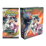 Album Mini Pokémon na 60 kariet - SUN & MOON 12 Cosmic Eclipse
