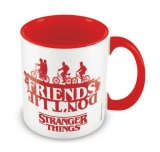 Šálka Stranger Things Coloured Inner Mug Friends Don't Lie