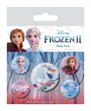 Odznak Frozen 2 Pin Badges 5-Pack Destiny