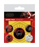 Odznak Star Wars Episode IX Pin Badges 5-Pack Sith