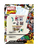 Magnetky - Marvel Comics Fridge Magnets Retro Heroes