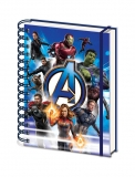 Zápisník - Avengers: Endgame Wiro Notebook A5 One Sheet
