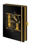 Zápisník - Harry Potter Premium Notebook A5 Hufflepuff Foil