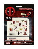 Magnetky - Deadpool Fridge Magnets Comic