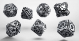 Kocka Set (7) - Metal Tech Dice Set