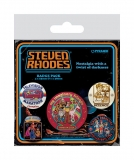 Odznak Steven Rhodes Pin Badges 5-Pack Collection