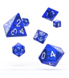 Kocka Set (7) - Oakie Doakie Dice RPG Set Translucent - Blue