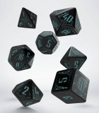 Kocka Set (7) - Classic RPG Galactic Dice Set black & blue