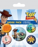 Odznak Toy Story 4 Pin Badges 5-Pack Friends for Life