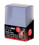 "Obal UltraPRO TOPLOADER 3"" X 4"" Super Thick 130PT with Card Sleeves 10ks"