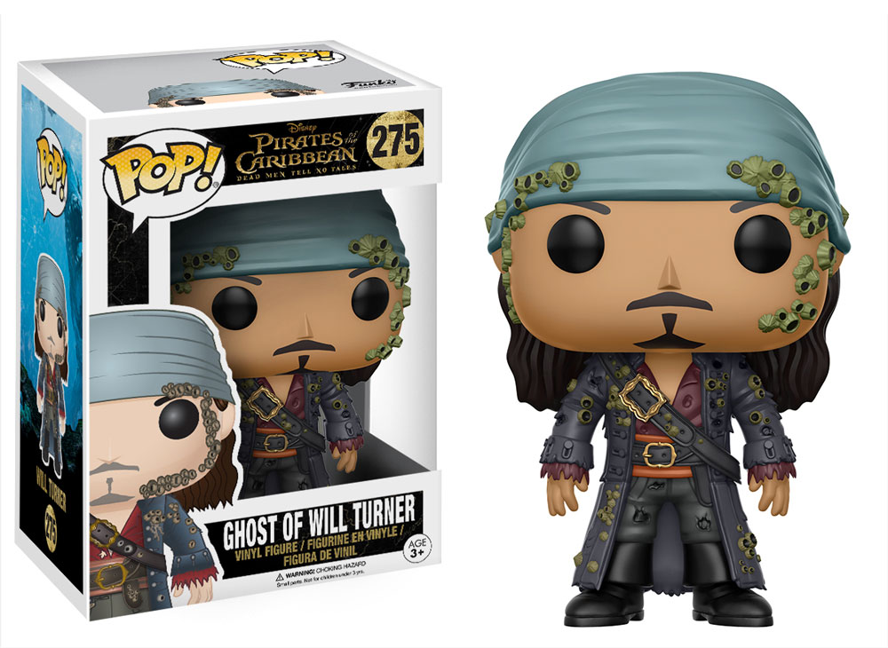 Funko POP: Pirates of the Caribbean Dead Men Tell No Tales - Ghost of Will