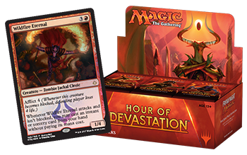 Magic the Gathering TCG: Hour of Devastation - Booster Box + PROMO KARTA