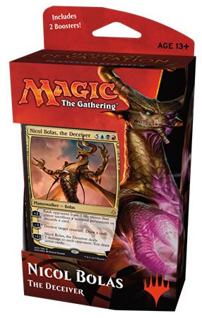 Magic the Gathering TCG: Hour of Devastation - Planeswalker Deck Nicol Bolas