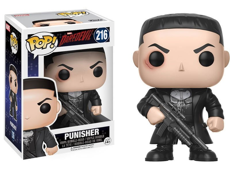 Funko POP: Daredevil TV - Punisher 10 cm
