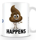 Šálka The Emoji Movie Mug Poop Happens