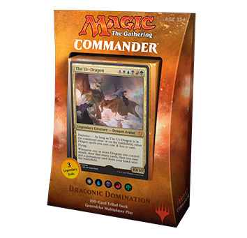 Magic The Gathering TCG: Commander 2017 - Draconic Domination