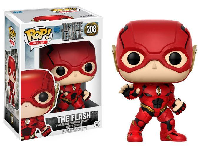 Funko POP: Justice League Movie - Flash 10 cm