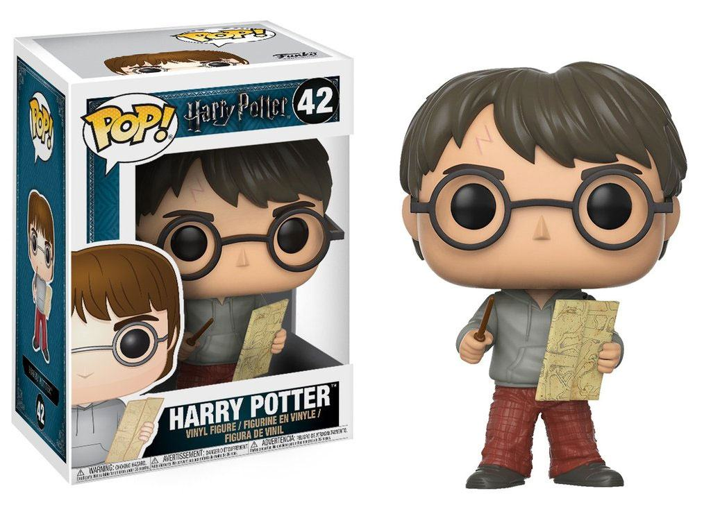 Funko POP: Harry Potter - Harry Potter with Marauders Map 10 cm