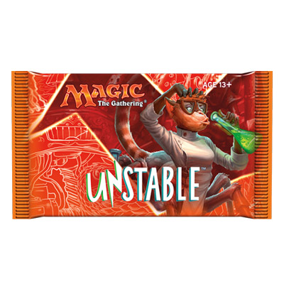 Magic the Gathering TCG: Unstable - Booster Pack