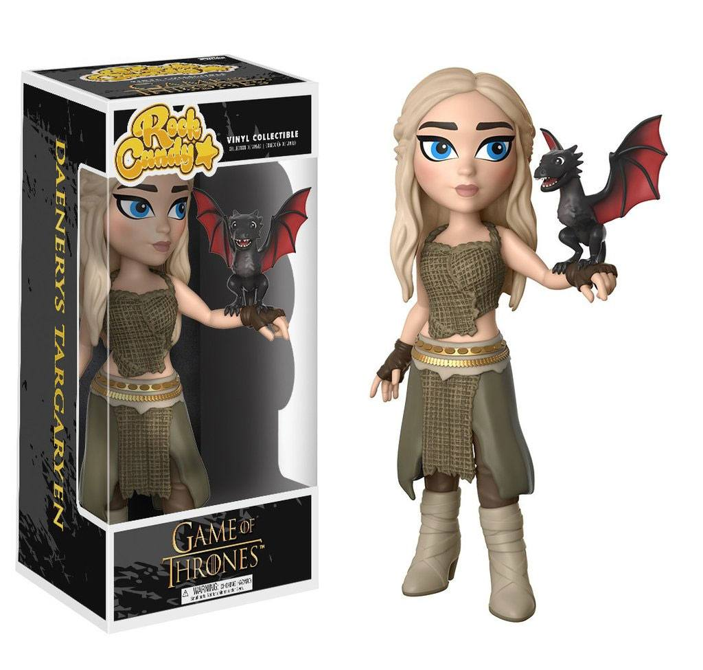 Funko Rock Candy - Game of Thrones - Daenerys Targaryen 13 cm