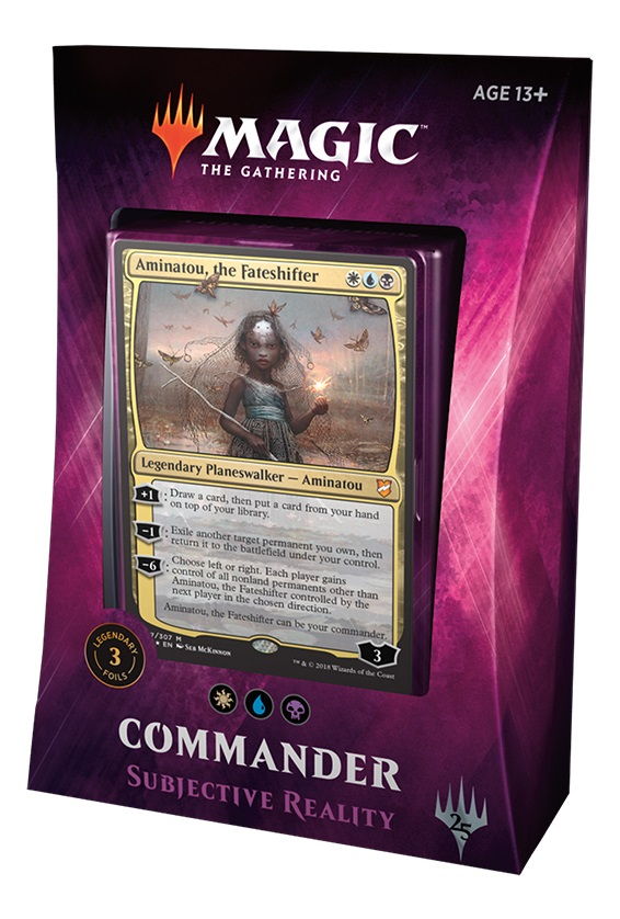 Magic The Gathering TCG: Commander 2018 - Subjective Reality