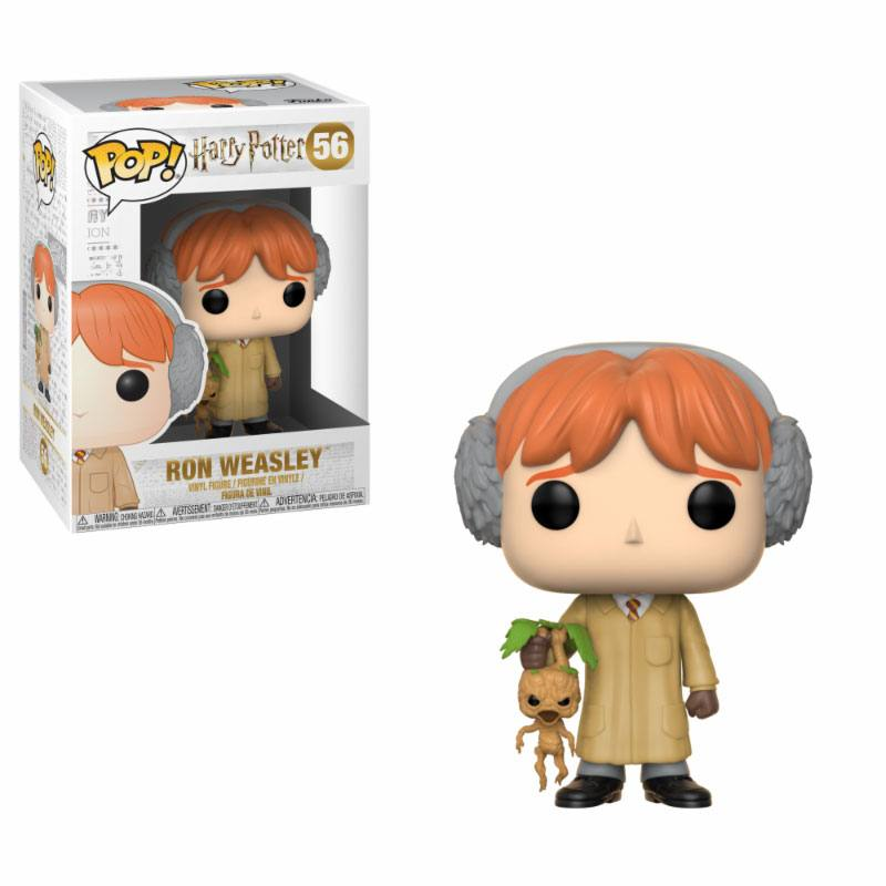 Funko POP: Harry Potter - Ron Weasley (Herbology) 10 cm