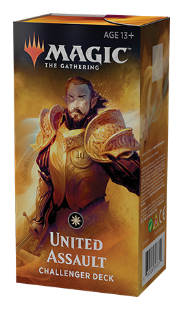 Magic the Gathering TCG: Challenger Deck - United Assault