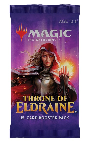 Magic the Gathering TCG: Throne of Eldraine - Booster Pack