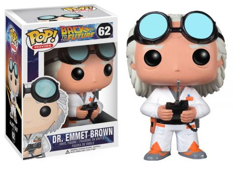 Funko POP: Back to the Future - Doc Brown 10 cm