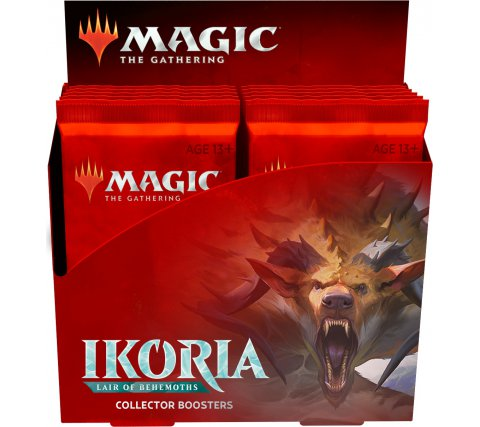 Magic The Gathering TCG: Ikoria: Lair of Behemoths - Collector's Booster Box