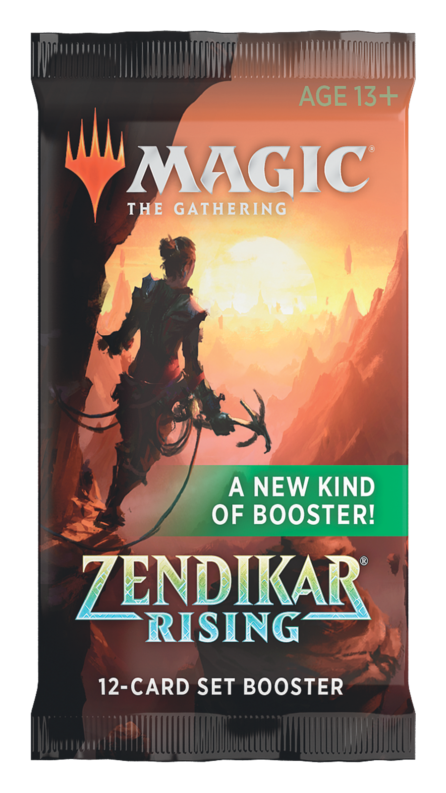 Magic the Gathering TCG: Zendikar Rising - Set Booster Pack