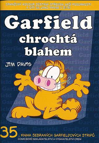 Garfield 35 - Garfield chrochtá blahem [Davis Jim]