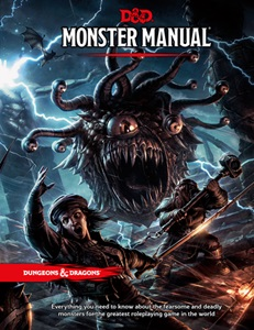 Dungeons & Dragons RPG: Monster Manual (5th Edition)