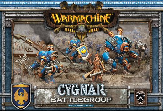 WM Cygnar Battlegroup