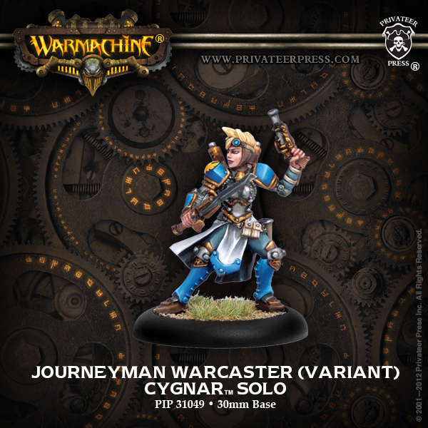 WM Cygnar - Journeyman Warcaster (Variant)