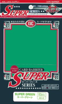 Obal KMC Super Series 80ks – Green