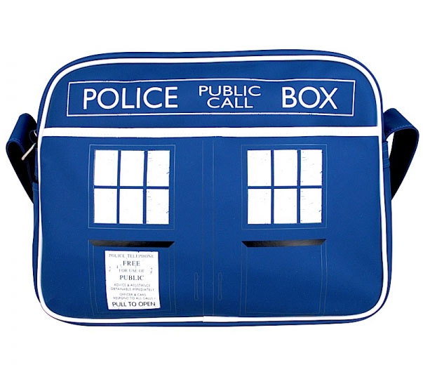 Taška na plece - Doctor Who Shoulder Bag Tardis