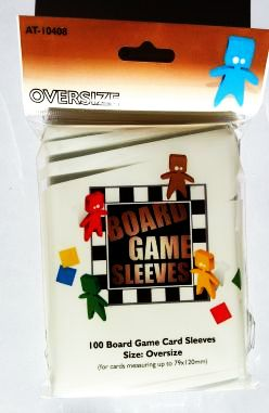 Obal Board Game Sleeves AT 79x120mm, oversized