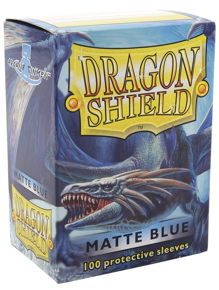 Obal Dragon Shield 100ks MATTE – modrý