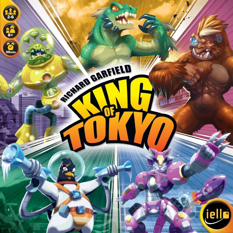 3467e89db50 King of Tokyo (2016 Edition) EN - spoločenská hra