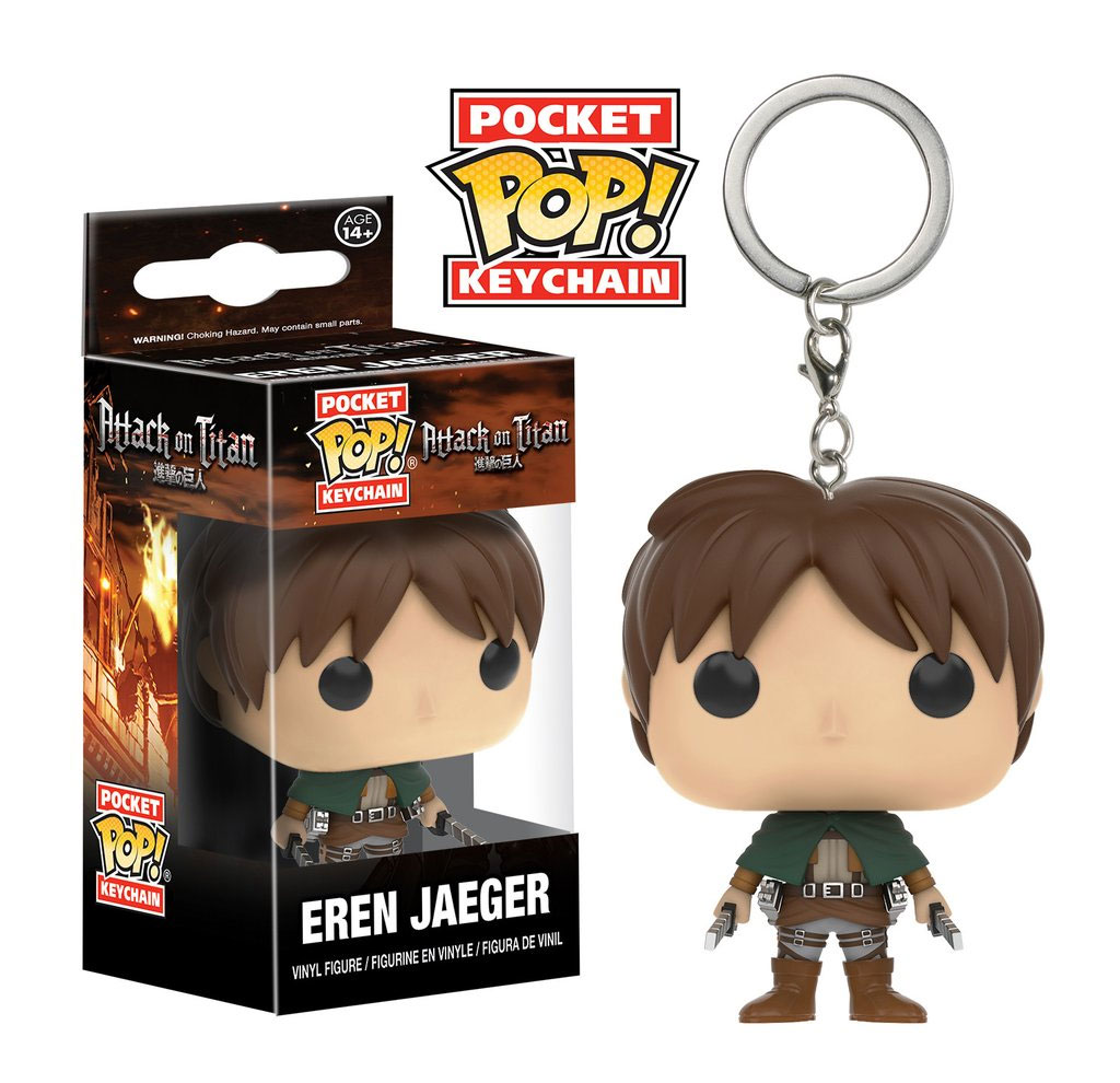 Kľúčenka POP Attack on Titan - Eren Jaeger 4 cm