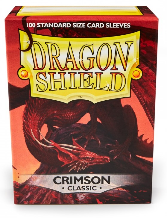 Obal Dragon Shield 100ks – Crimson