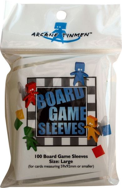 Obal Board Game Sleeves 59x92mm, large