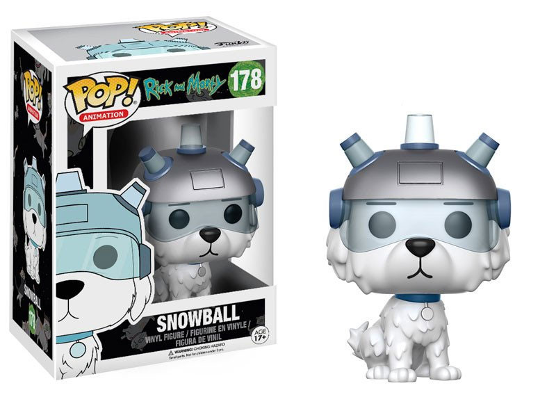 17/12 Funko POP: Rick and Morty - Snowball 10 cm
