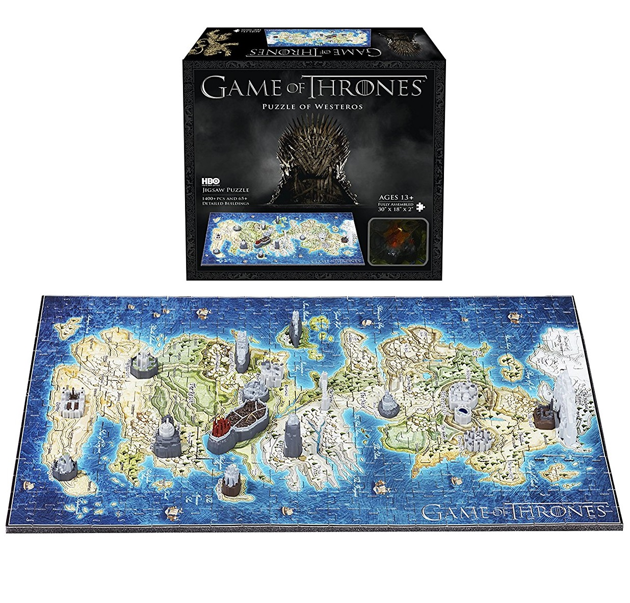 Puzzle Game of Thrones 3D - Mini Westeros