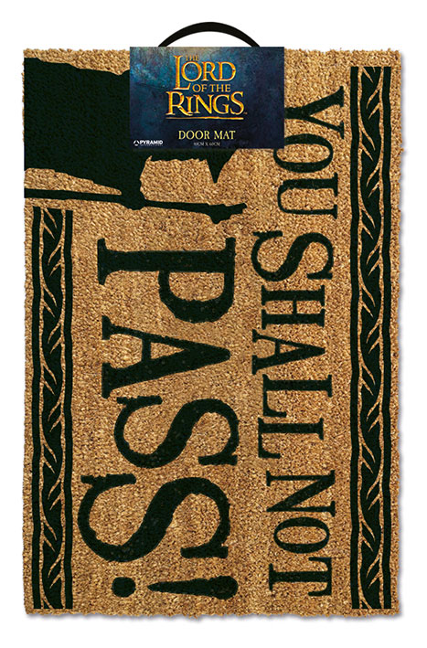 Rohožka - Lord of the Rings Doormat You Shall Not Pass 40 x 60 cm
