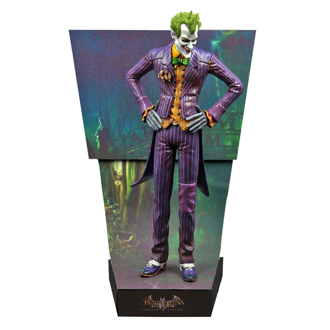 19/07 Batman Arkham Asylum Premium Motion Statue The Joker 25 cm