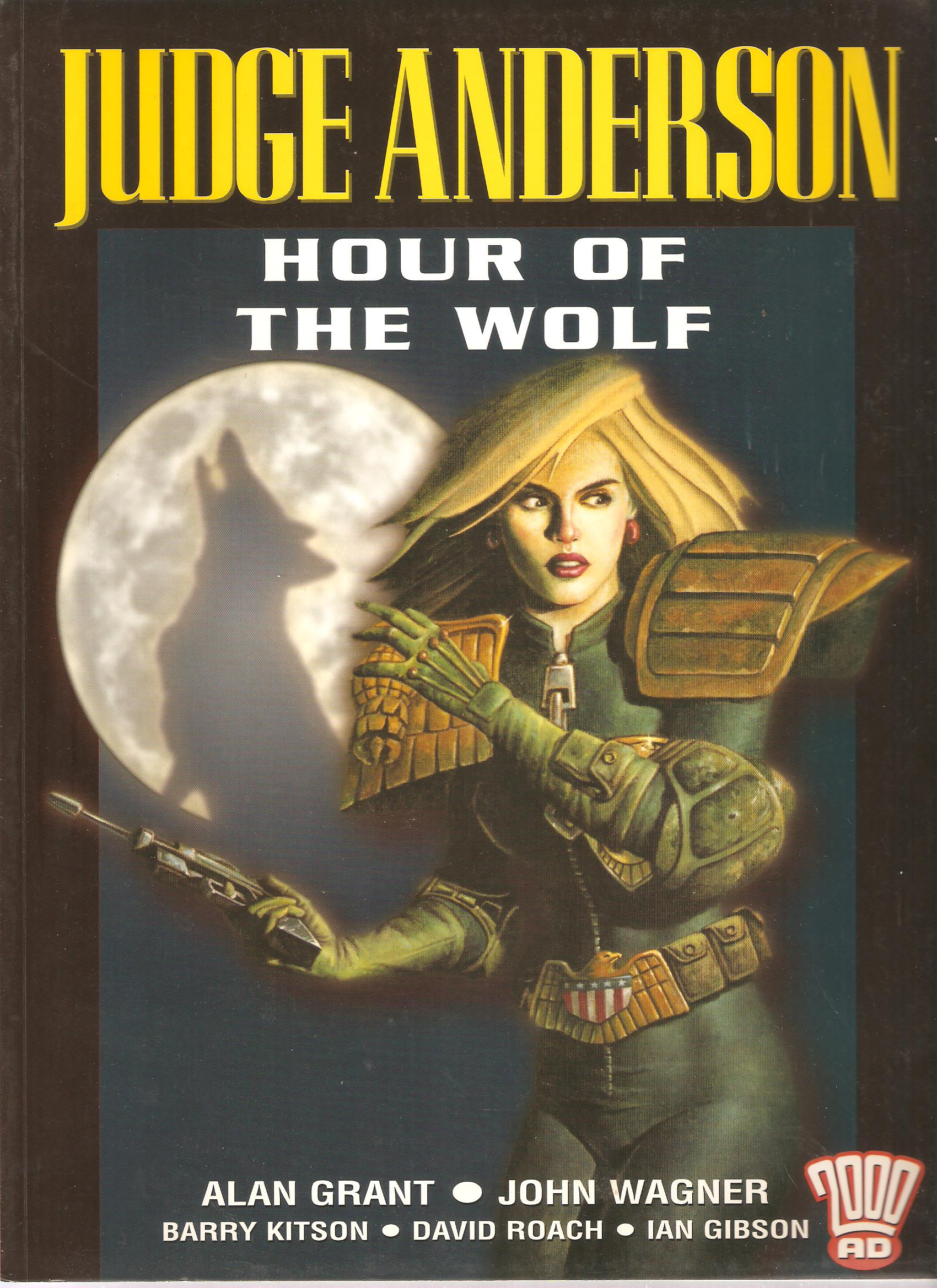 A - 2000 AD Judge Anderson: The Hour of the Wolf