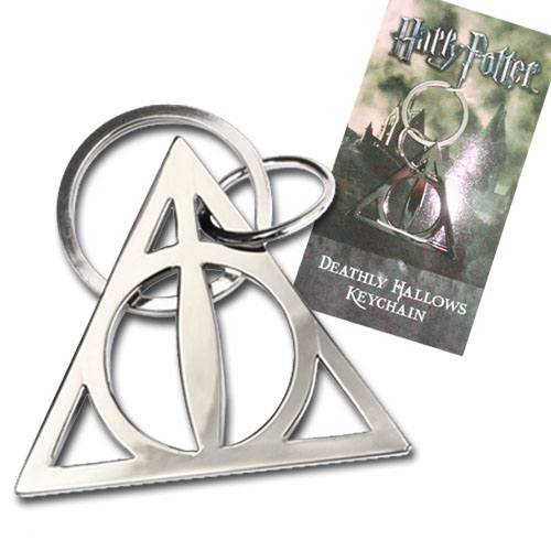 Kľúčenka Harry Potter Metal Keychain Deathly Hallows 5 cm